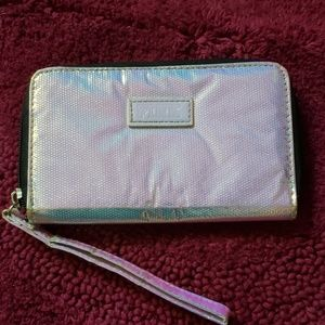 VS Pink holographic wallet